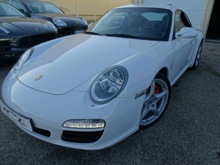 Porsche 911 997 S 3.8L 385PS PDK/PACK CHRONO + TOE BIXENON CD S.SPORT PACK CUIR REGULATEUR DE VITESSE blanc nacré - 2