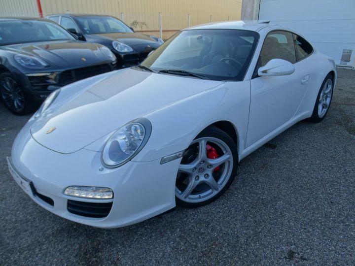 Porsche 911 997 S 3.8L 385PS PDK/PACK CHRONO + TOE BIXENON CD S.SPORT PACK CUIR REGULATEUR DE VITESSE blanc nacré - 3