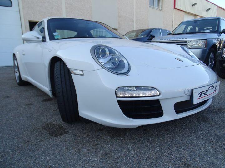 Porsche 911 997 S 3.8L 385PS PDK/PACK CHRONO + TOE BIXENON CD S.SPORT PACK CUIR REGULATEUR DE VITESSE blanc nacré - 5