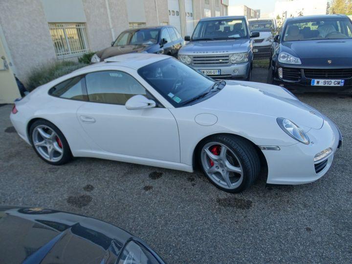 Porsche 911 997 S 3.8L 385PS PDK/PACK CHRONO + TOE BIXENON CD S.SPORT PACK CUIR REGULATEUR DE VITESSE blanc nacré - 7