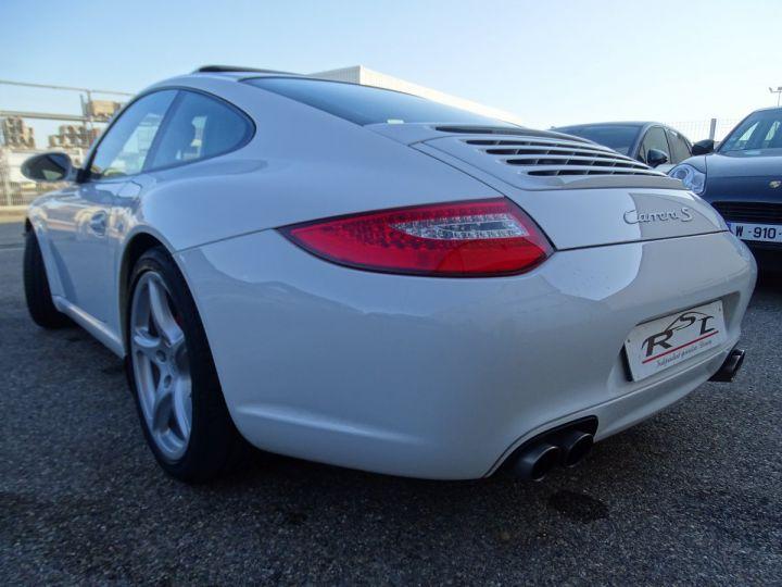 Porsche 911 997 S 3.8L 385PS PDK/PACK CHRONO + TOE BIXENON CD S.SPORT PACK CUIR REGULATEUR DE VITESSE blanc nacré - 8