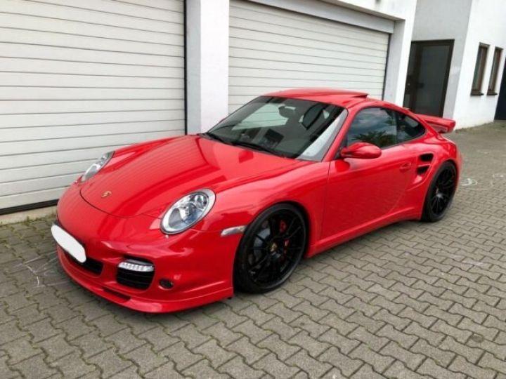 Porsche 911 997 Turbo AEROKIT boite méca rouge indisch - 1