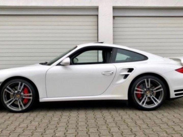 Porsche 911 997 TURBO PDK BLANC - 2
