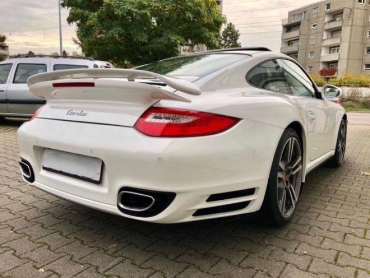 Porsche 911 997 TURBO PDK BLANC - 4