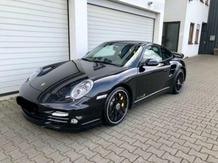 Porsche 911 997 Turbo S PDK noir basalt - 1