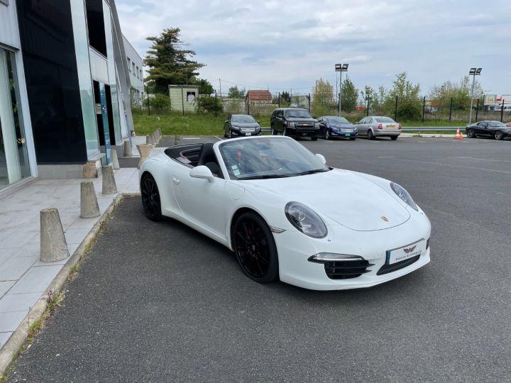 Porsche 911 Cabriolet 3.8 Carrera S 400cv Blanc - 3