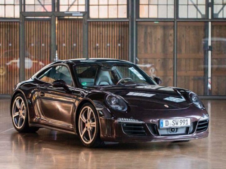 Porsche 911 Carrera 4S Prune Peinture métallisée - 1