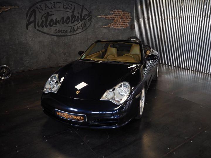 Porsche 911 carrera 996 cabriolet  bleu metal - 2
