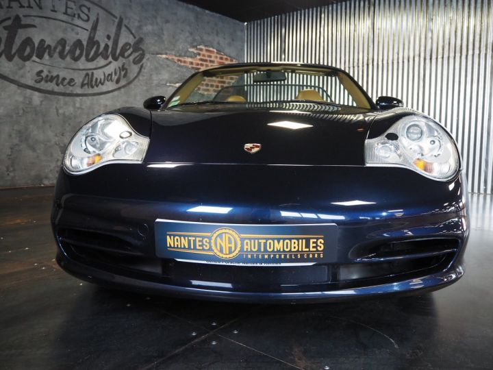 Porsche 911 carrera 996 cabriolet  bleu metal - 3