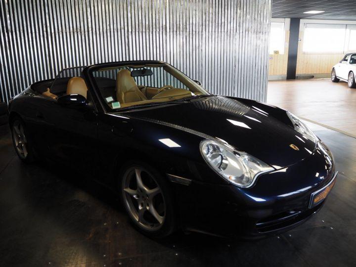 Porsche 911 carrera 996 cabriolet  bleu metal - 4
