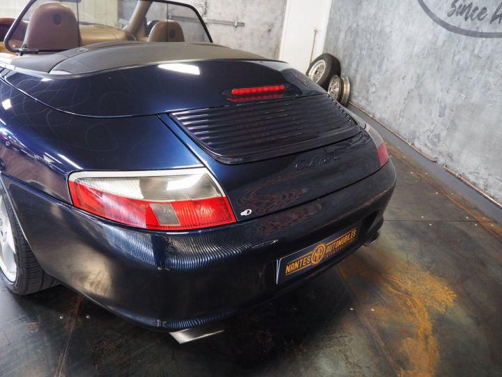 Porsche 911 carrera 996 cabriolet  bleu metal - 6