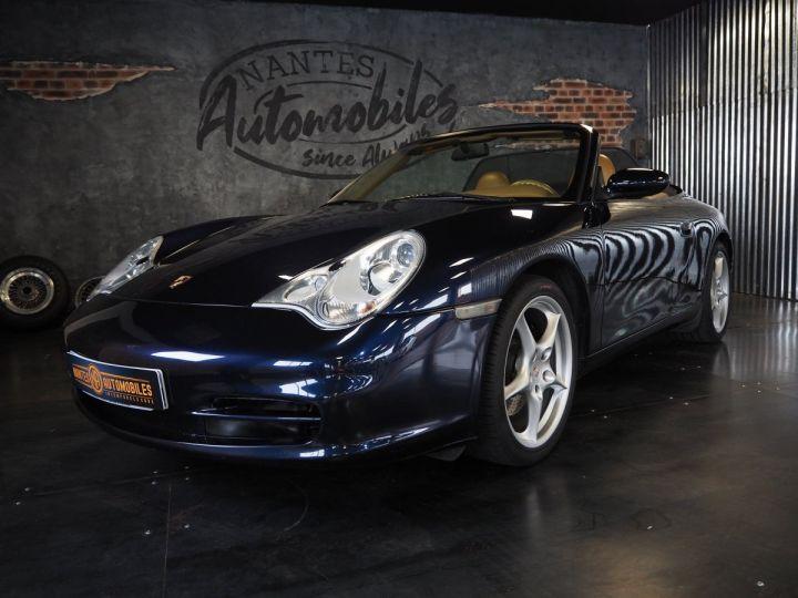 Porsche 911 carrera 996 cabriolet  bleu metal - 8