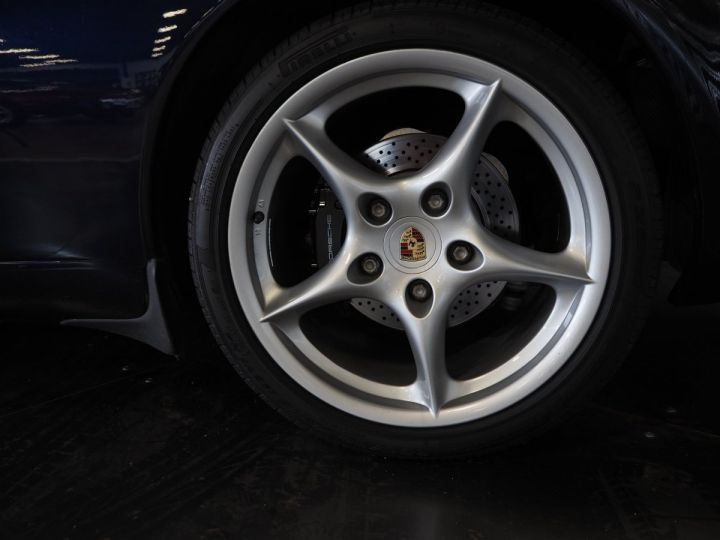 Porsche 911 carrera 996 cabriolet  bleu metal - 9