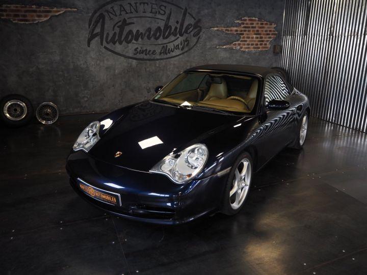 Porsche 911 carrera 996 cabriolet  bleu metal - 10