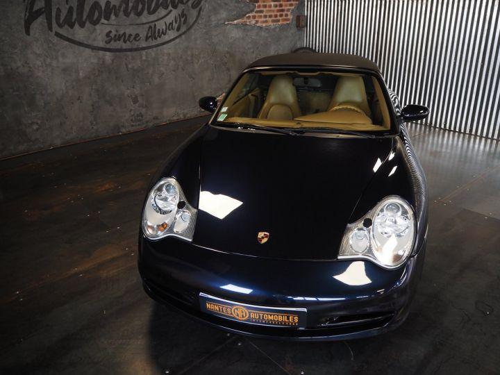 Porsche 911 carrera 996 cabriolet  bleu metal - 11