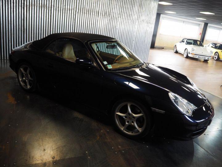 Porsche 911 carrera 996 cabriolet  bleu metal - 12