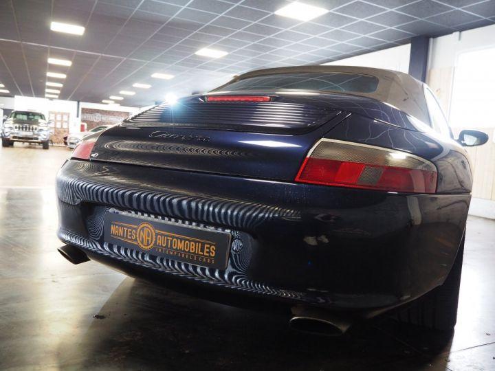 Porsche 911 carrera 996 cabriolet  bleu metal - 13