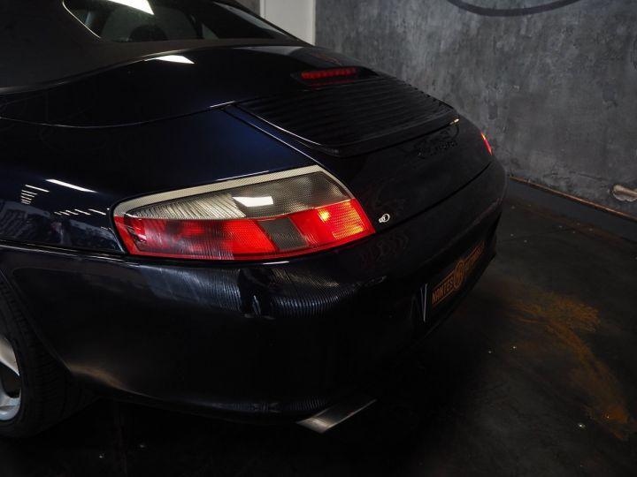 Porsche 911 carrera 996 cabriolet  bleu metal - 14