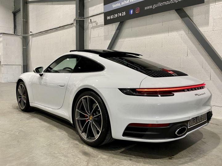 Porsche 911 CARRERA COUPE 992 Carrera Coupé 3.0i 385 PDK Blanc - 4