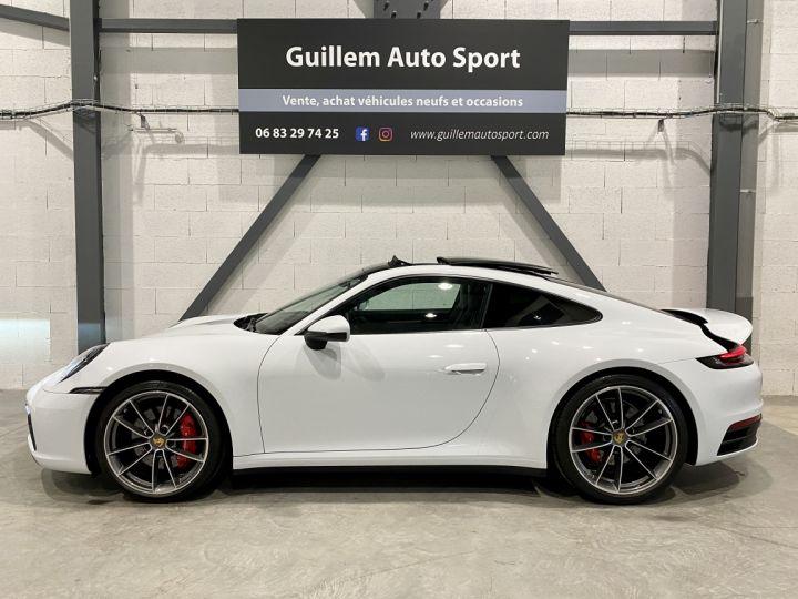 Porsche 911 CARRERA COUPE 992 Carrera Coupé 3.0i 385 PDK Blanc - 7