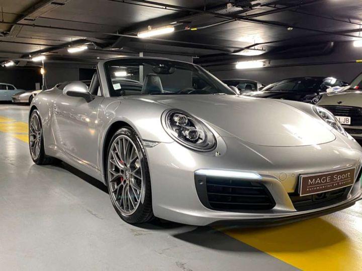 Porsche 911 Carrera S Cabriolet 3.0i 420 PDK Gris Occasion - 1