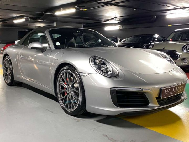 Porsche 911 Carrera S Cabriolet 3.0i 420 PDK Gris Occasion - 3