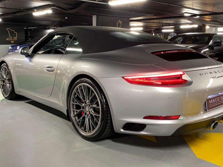 Porsche 911 Carrera S Cabriolet 3.0i 420 PDK Gris Occasion - 4
