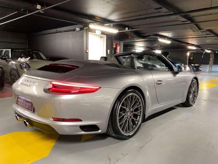 Porsche 911 Carrera S Cabriolet 3.0i 420 PDK Gris Occasion - 9