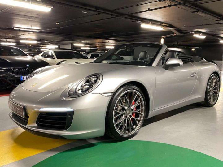 Porsche 911 Carrera S Cabriolet 3.0i 420 PDK Gris Occasion - 10
