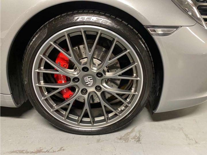 Porsche 911 Carrera S Cabriolet 3.0i 420 PDK Gris Occasion - 14