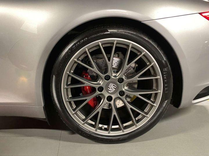 Porsche 911 Carrera S Cabriolet 3.0i 420 PDK Gris Occasion - 15
