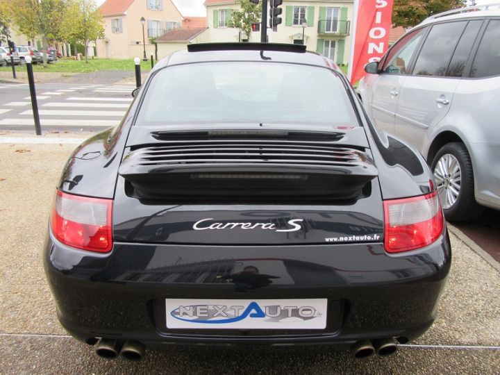 Porsche 911 COUPE (997) CARRERA S 3.8L 355CH Noir Occasion - 7