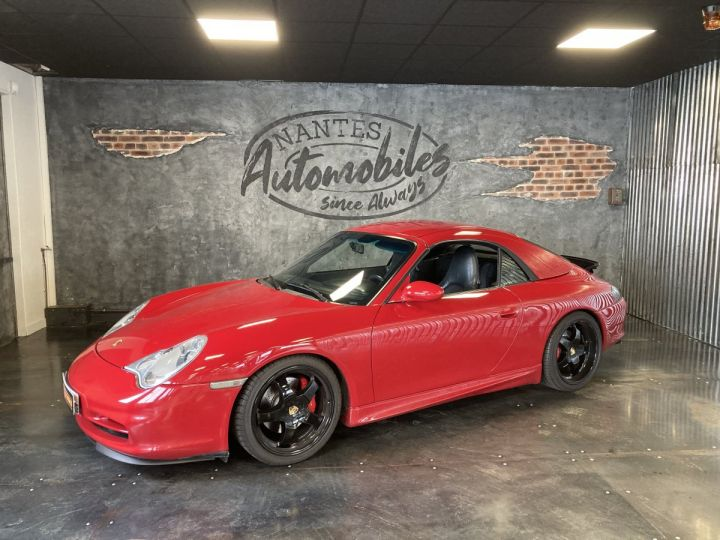 Porsche 911 Porsche 911 cabriolet type 996 3.6 i 320 ch BVM6 ROUGE CARMIN  - 1