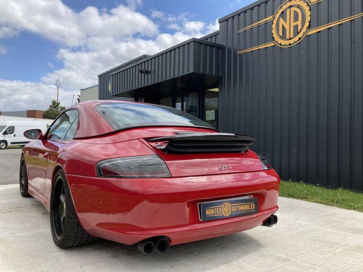 Porsche 911 Porsche 911 cabriolet type 996 3.6 i 320 ch BVM6 ROUGE CARMIN  - 7