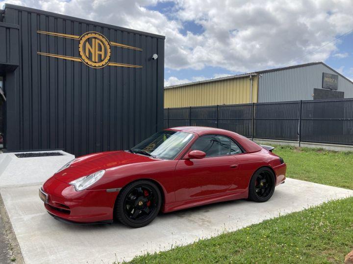 Porsche 911 Porsche 911 cabriolet type 996 3.6 i 320 ch BVM6 ROUGE CARMIN  - 9