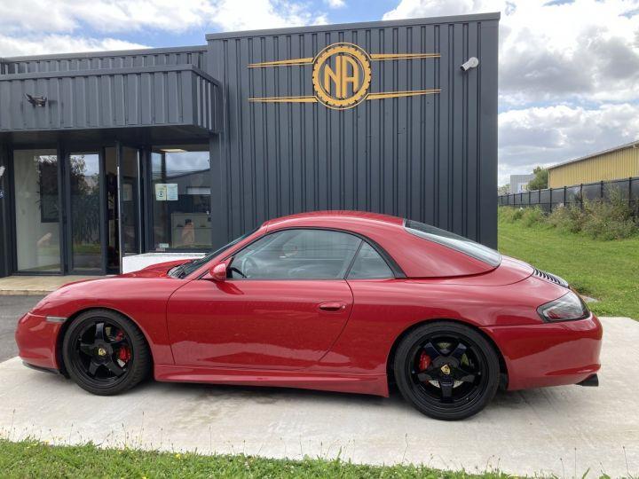 Porsche 911 Porsche 911 cabriolet type 996 3.6 i 320 ch BVM6 ROUGE CARMIN  - 11