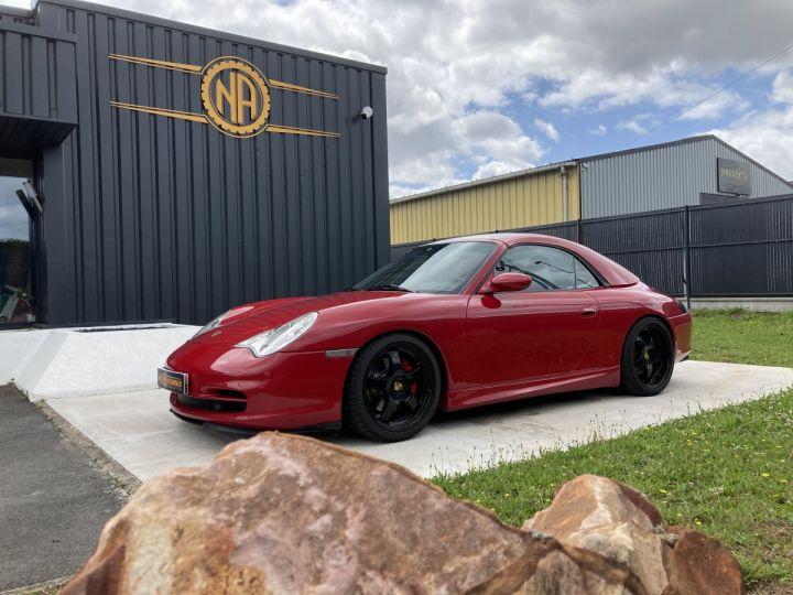 Porsche 911 Porsche 911 cabriolet type 996 3.6 i 320 ch BVM6 ROUGE CARMIN  - 13