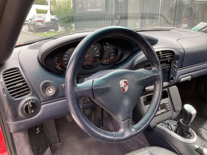 Porsche 911 Porsche 911 cabriolet type 996 3.6 i 320 ch BVM6 ROUGE CARMIN  - 14