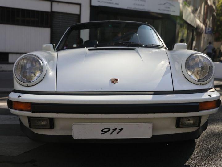 Porsche 911 PORSCHE 911 CARRERA CABRIOLET 3.2 231CV Blanc - 2