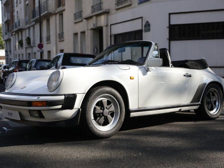 Porsche 911 PORSCHE 911 CARRERA CABRIOLET 3.2 231CV Blanc - 1