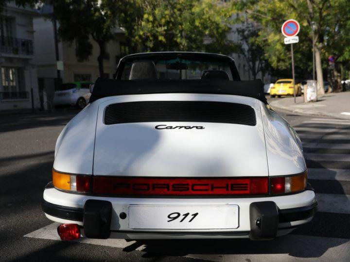 Porsche 911 PORSCHE 911 CARRERA CABRIOLET 3.2 231CV Blanc - 5