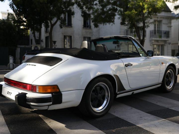 Porsche 911 PORSCHE 911 CARRERA CABRIOLET 3.2 231CV Blanc - 6