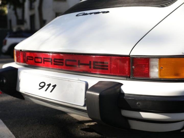 Porsche 911 PORSCHE 911 CARRERA CABRIOLET 3.2 231CV Blanc - 12