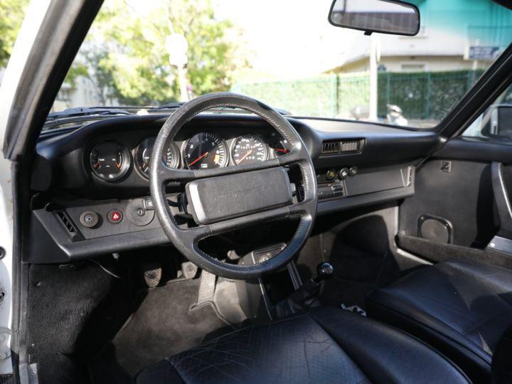 Porsche 911 PORSCHE 911 CARRERA CABRIOLET 3.2 231CV Blanc - 19