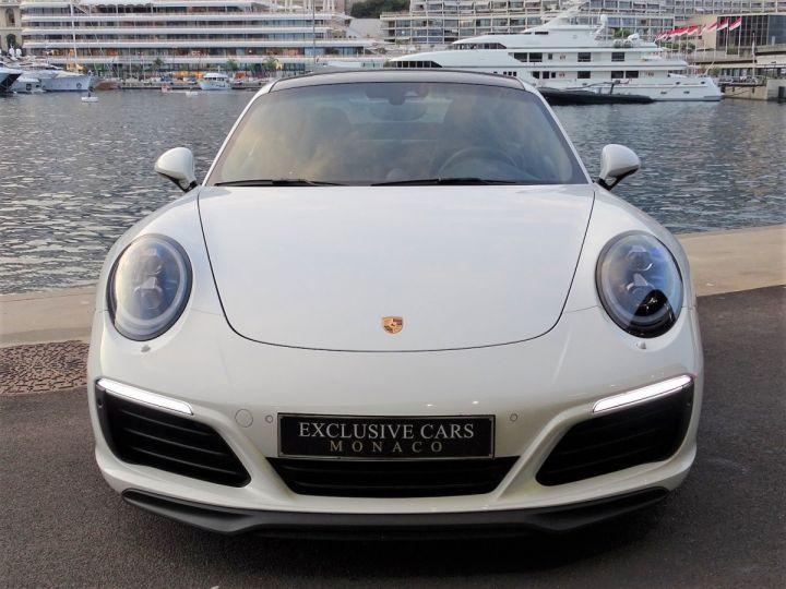 Porsche 911 PORSCHE 911 TYPE 991 CARRERA S PDK 420 CV - MONACO Blanc  - 2