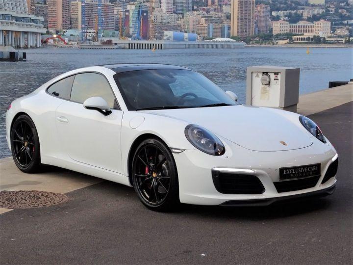 Porsche 911 PORSCHE 911 TYPE 991 CARRERA S PDK 420 CV - MONACO Blanc  - 3