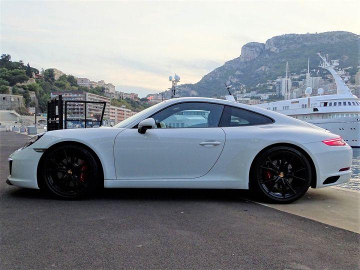Porsche 911 PORSCHE 911 TYPE 991 CARRERA S PDK 420 CV - MONACO Blanc  - 4