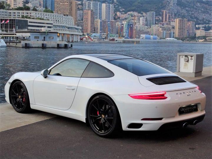 Porsche 911 PORSCHE 911 TYPE 991 CARRERA S PDK 420 CV - MONACO Blanc  - 5