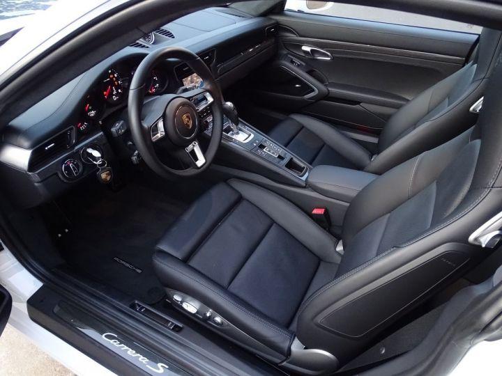 Porsche 911 PORSCHE 911 TYPE 991 CARRERA S PDK 420 CV - MONACO Blanc  - 7