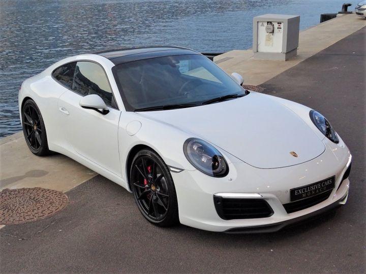 Porsche 911 PORSCHE 911 TYPE 991 CARRERA S PDK 420 CV - MONACO Blanc  - 16